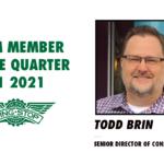 Celebrating Team Member of the Quarter – Todd Brin
